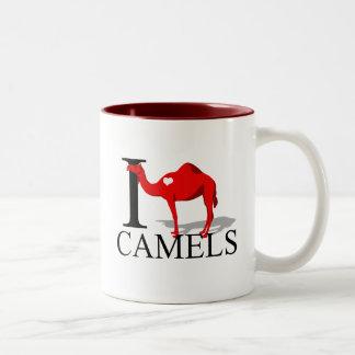 Amo las tazas de los camellos