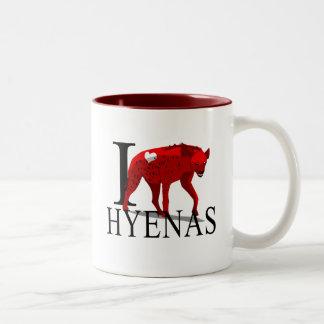 Amo las tazas de los Hyenas