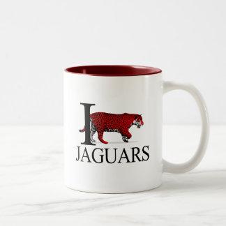 Amo las tazas de los jaguares