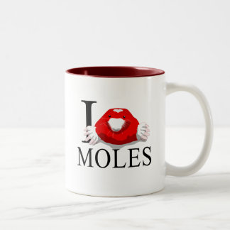 Amo las tazas de los topos