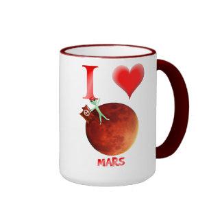 Amo las tazas de Marte