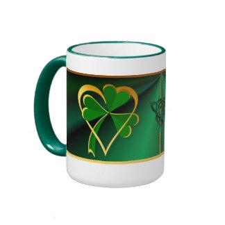 Amo las tazas de St Patrick