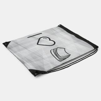 Amo las toallas de papel mochilas