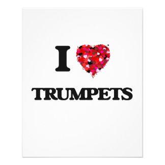 """Amo las trompetas folleto 4.5"""" x 5.6"""""""