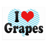 Amo las uvas postales