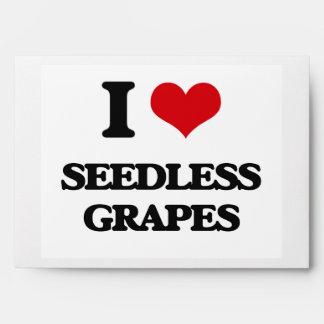 Amo las uvas sin semillas