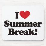 ¡Amo las vacaciones de verano! Alfombrilla De Ratón