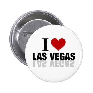 Amo Las Vegas Pin Redondo 5 Cm