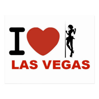 amo Las Vegas Tarjeta Postal