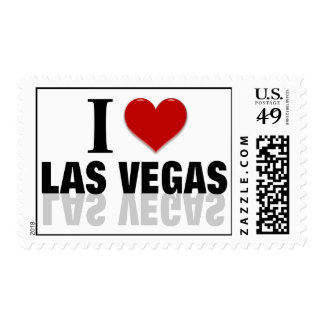 Amo Las Vegas Timbres Postales