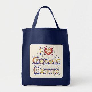 Amo Latte cósmico Bolsas