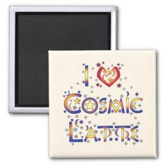 Amo Latte cósmico Imanes