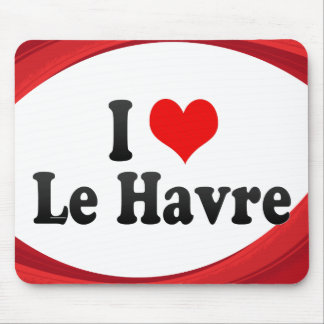Amo Le Havre, Francia Tapetes De Ratón