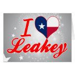 Amo Leakey, Tejas Felicitacion