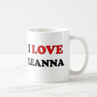 Amo Leanna Tazas De Café