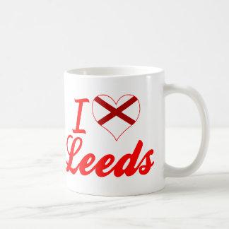 Amo Leeds, Alabama Taza De Café