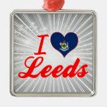 Amo Leeds, Maine Adornos