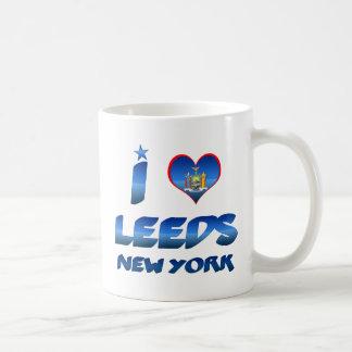 Amo Leeds, Nueva York Taza De Café