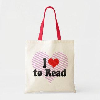 Amo leer bolsas