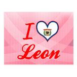 Amo León, Virginia Occidental Postales