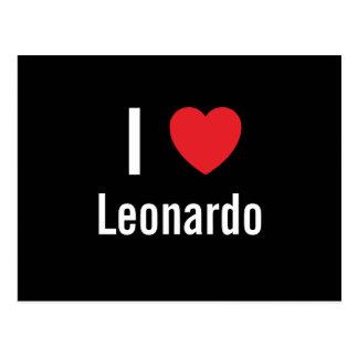 Amo Leonardo Postales
