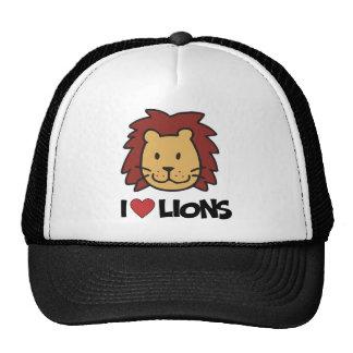 Amo leones gorros