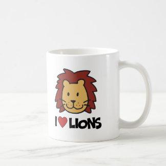Amo leones taza