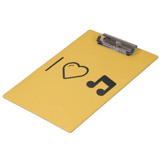 Amo letras de la música