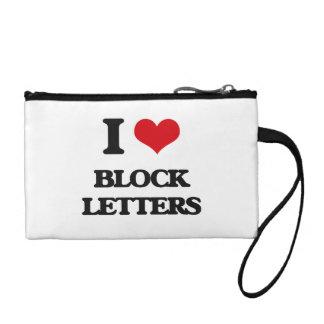 Amo letras de molde