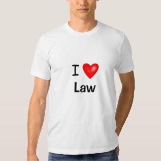 Amo ley del corazón de la ley I Remera