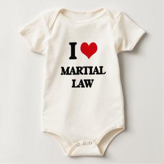 Amo ley marcial mameluco de bebé