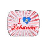 Amo Líbano, Connecticut Latas De Dulces
