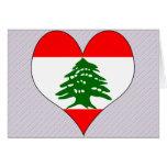 Amo Líbano Felicitacion