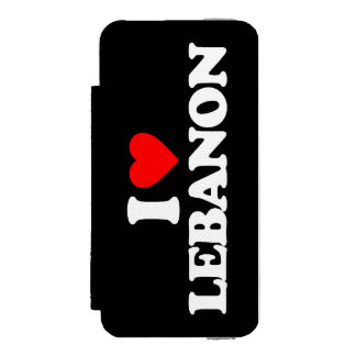 AMO LÍBANO FUNDA BILLETERA PARA iPhone 5 WATSON