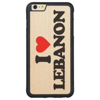 AMO LÍBANO FUNDA DE ARCE BUMPER CARVED® PARA iPhone 6 PLUS