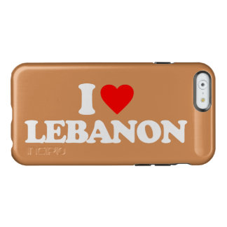 AMO LÍBANO FUNDA PARA iPhone 6 PLUS INCIPIO FEATHER SHINE