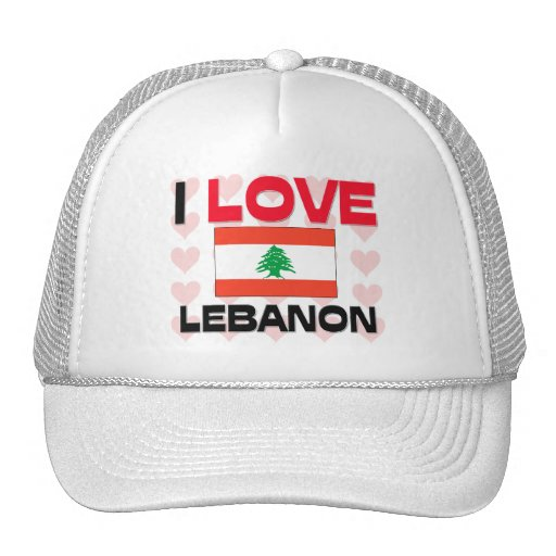 Amo Líbano Gorra
