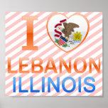 Amo Líbano, IL Poster