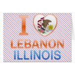 Amo Líbano, IL Tarjeton