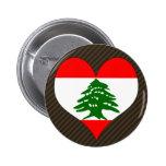 Amo Líbano Pin