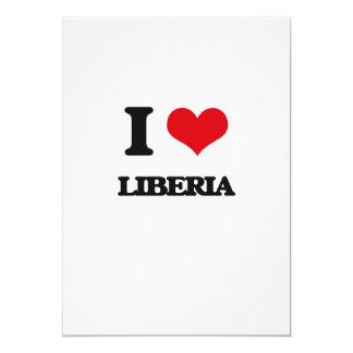 Amo Liberia Invitación 12,7 X 17,8 Cm