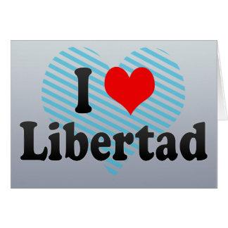 Amo Libertad Filipinas Tarjeta