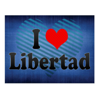 Amo Libertad Filipinas Postal