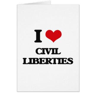 Amo libertades civiles felicitaciones
