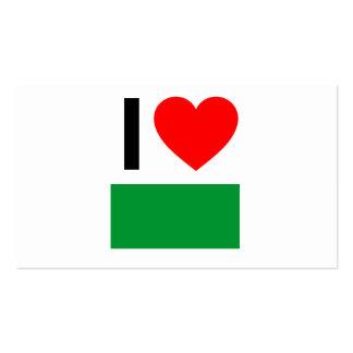 amo Libia Tarjetas De Visita