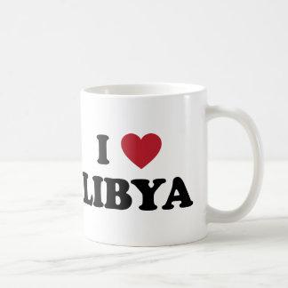 Amo Libia Taza Básica Blanca