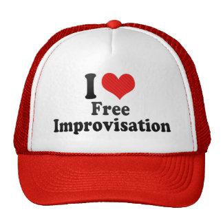 Amo libremente+Improvisación Gorros