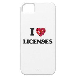 Amo licencias iPhone 5 funda