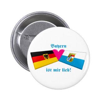 Amo lieb de los ist MIR de Baviera/de Baviera Pins
