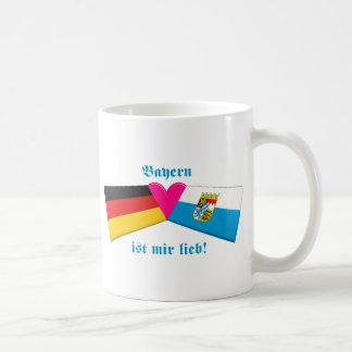 Amo lieb de los ist MIR de Baviera/de Baviera Taza Clásica